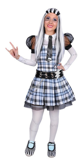 Disfraz De Mounster High Franky Teen Carnavalito -d552