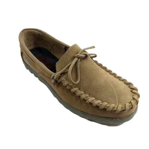 Zapatos Vulcano Unisex Mocasin Negro/ Coco N°34/44