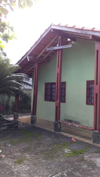 3548 - Casa 2 Dormitórios Mongaguá Litoral Sul