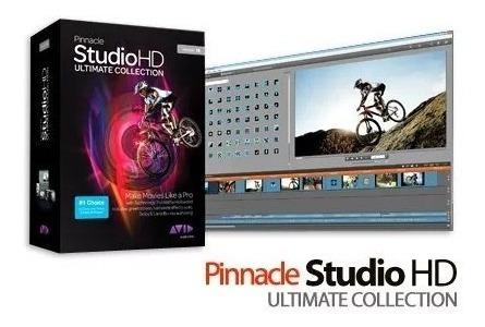 Pinnacle Studio 15 Hd Ultimate Collection+curso