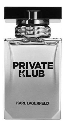 Perfume Private Klub Pour Homme 100 Ml - Karl Lagerfeld - Sem Caixa - Original