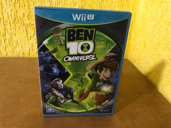Ben 10 Omniverse Manuas Nintendo Wii U Midia Fisica.