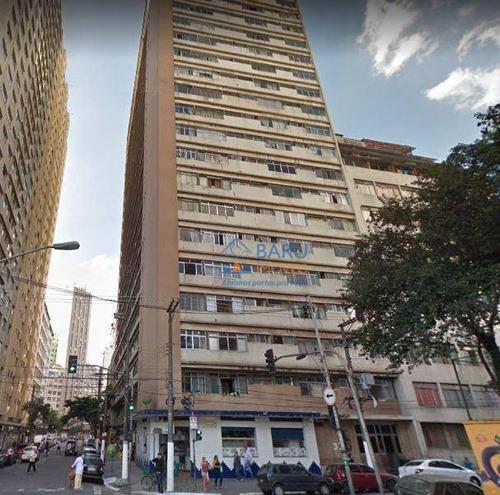 Kitnet À Venda Semi Mobiliada 40 M² Por R$ 150.000 - Liberdade - São Paulo/sp - Kn0164