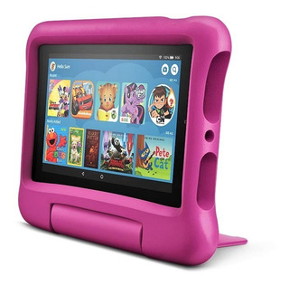 Tablet Amazon Fire 7 Kids Edition 16gb Funda P/niños Rosa