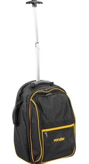 Mochila Com Rodas E Alças Mov0500 Com Puxador Extensível - Vonder