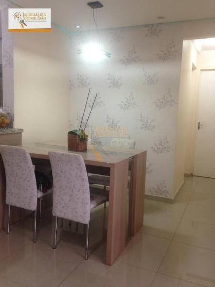 Apartamento Com 3 Dormitórios À Venda, 67 M² Por R$ 280.000,00 - Jardim Albertina - Guarulhos/sp - Ap0728