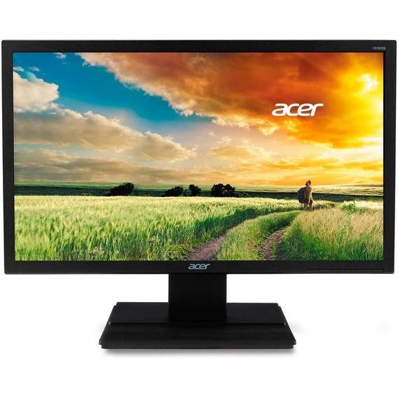 Monitor Acer 21.5 Full Hd, Preto