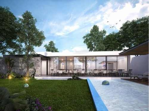 Casa Sola En Venta Barlovento Residencial, Temozon Norte