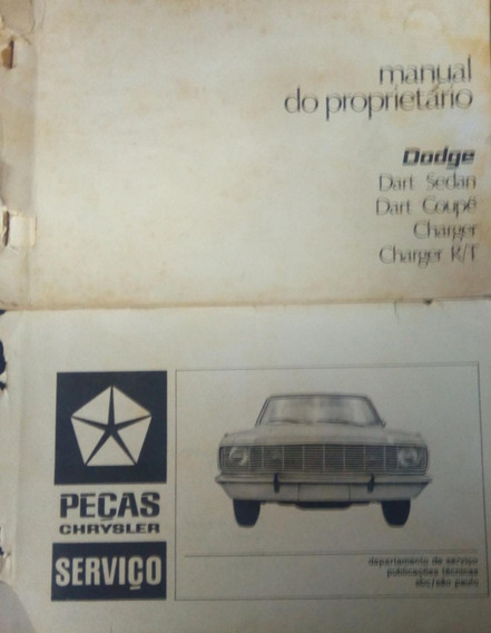Manual Do Proprietario Dodge Dart Coupê 1971