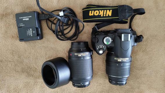 Nikon D60 Com Duas Lentes