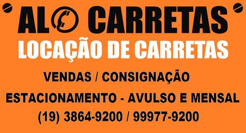 Imagem 1 de 8 de Locação De Carreta Baú Vanderléia 30 Paletes