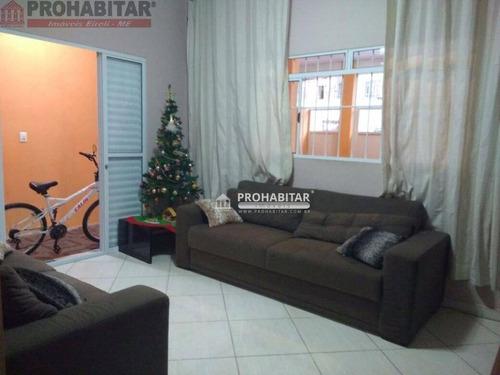 Imagem 1 de 12 de Casa Com 3 Dormitórios À Venda, 125 M² Por R$ 235.000,00 - Grajaú - São Paulo/sp - Ca1851