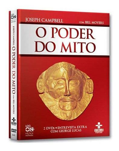 Imagem 1 de 1 de Coleção O Poder Do Mito 2 Dvds - Joseph Campbell