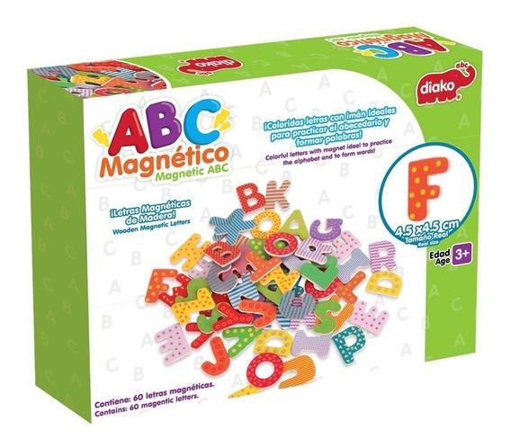 Abc Magnético De Madera Juguete Para Niños