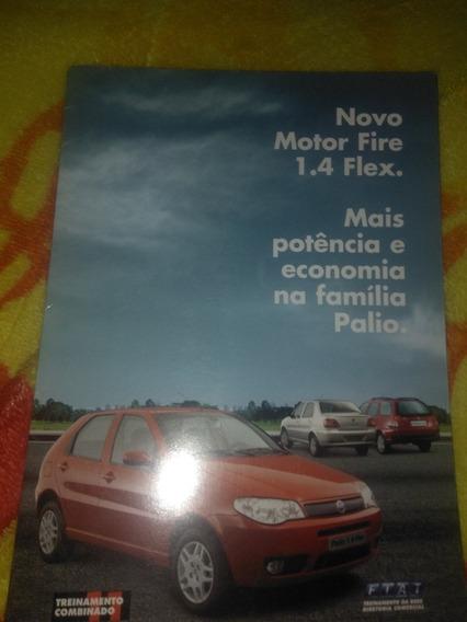 Fiat Palio 1.4 Flex 2005 Folheto De Venda