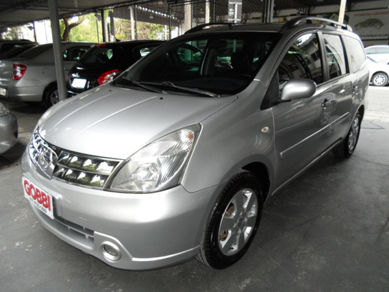 Nissan / Grand Livina Sl 1.8 16v 2012 Prata