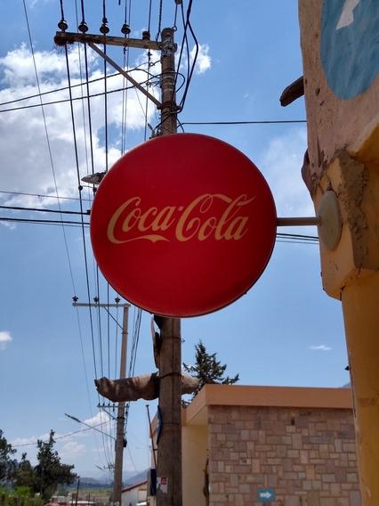 Cartel Coca Cola Luminoso