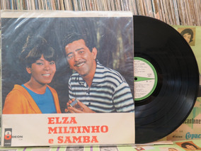 Elza Soares Elza Miltinho & Samba Lp Odeon 1967 Original