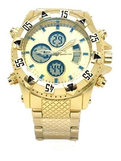 Relógio Masculino Invicta Dourado