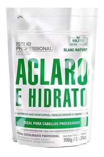 Polvo Decolorante Issue Blanc Nature Uso Profesional 700g