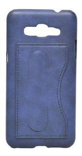 Funda Protector Cover Milan Samsung J7 Prime Tarjetero