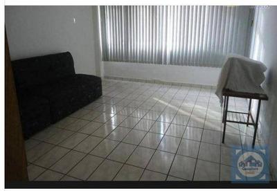Kitnet Com 1 Dormitório À Venda, 45 M² Por R$ 136.000 - Itararé - São Vicente/sp - Kn0473