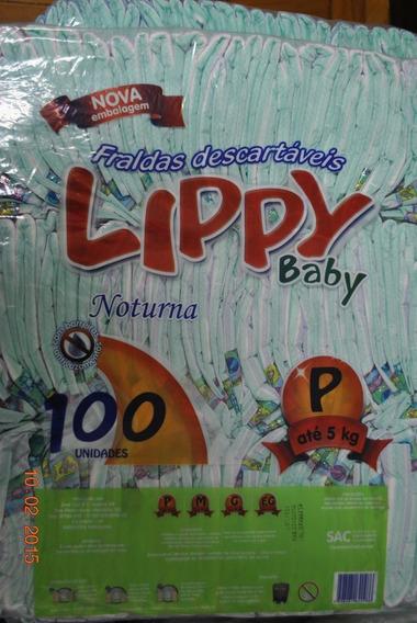 Atacado - Fralda Lippy Noturna - Tam. P 200 Ou M 200.