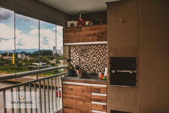Apartamento Com 3 Dormitórios À Venda, 90 M² Por R$ 490.000 - Parque Industrial - São José Dos Campos/sp - Ap0520