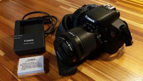 Canon T5i (lente 18-55 Stm + Bolsa Lowepro)