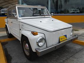 1975 Volkswagen Safari 4 Cil Blanco De Coleccion
