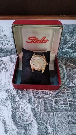 Antiguo Reloj Steelco De Cuerda