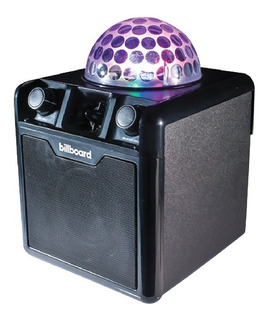 Parlante Bluetooth Usb Disco Party Luces Karaoke Cuotas