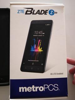 Teléfono Zte Blade Z Max Con Accesorios Y Cargador Original