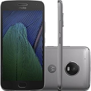Motorola Moto G5 Plus Platinum 32gb 4g Tvhd Xt1683 - Vitrine