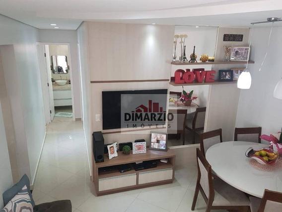Apartamento Com 3 Dormitórios À Venda, 59 M² Por R$ 250.000,00 - Jardim Dona Regina - Santa Bárbara D