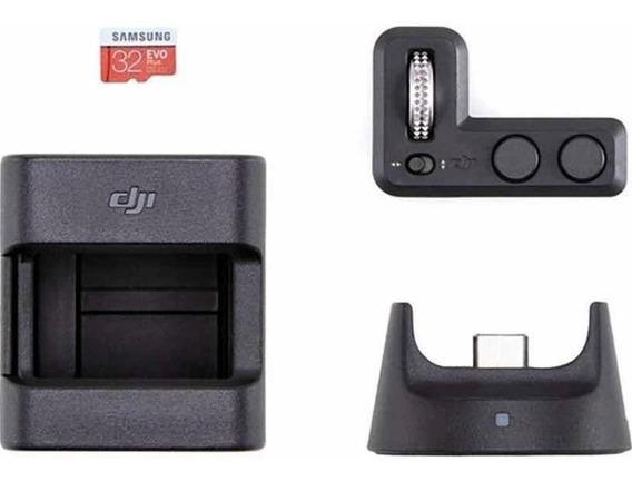 Dji Osmo Pocket Kit Módulo Wireless, Controle, Suporte E Sd
