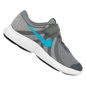Tênis Nike Infantil Revolution Cinza 943305014 Original