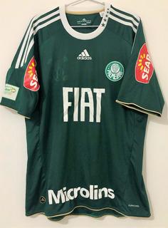 Camisa Palmeiras Derby 336 Usada & Autografada Kleber
