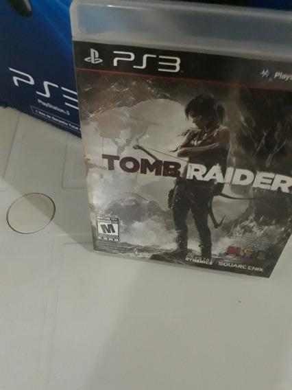 Jogo De Ps3 Barato/ Midia Fisica/ Tomb Raider