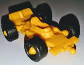 Fórmula 1 - Carrinho Anos 80 Plástico Amarelo