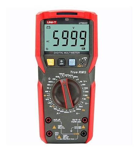 Multimetro Digital Profesional Ut89x De Mano Alta Precisión