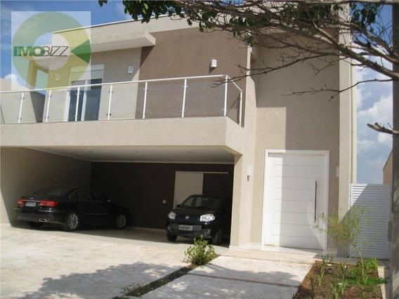 Casa Residencial À Venda, Condomínio Residencial Villa Romana, Valinhos. - Ca1213