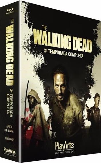 Walking Dead - 3ª Temporada - Blu Ray Dub/leg, Lacrado