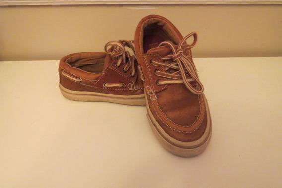 Sapato Zara Tipo Dockside Infantil