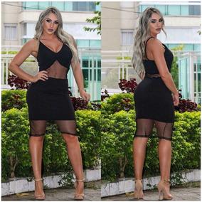 7e90f84e3 Vestidos Médios Femininas em Itapevi no Mercado Livre Brasil
