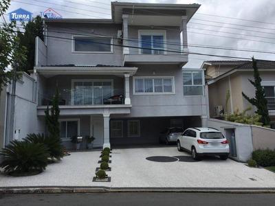 Casa Com 4 Dormitórios À Venda, 474 M² - Loteamento Fechado Flamboyant - Atibaia/sp - Ca2777 - Ca2777