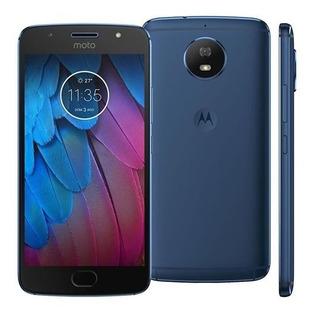 Motorola Moto G G5s Xt1792 32gb Dual 16mp Vitrine Azul