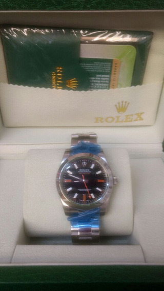 Reloj Rolex Milgauss Automatico Envío Gratis