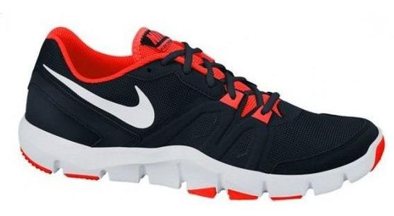 Tênis Nike Flex Show - Preto / Laranja