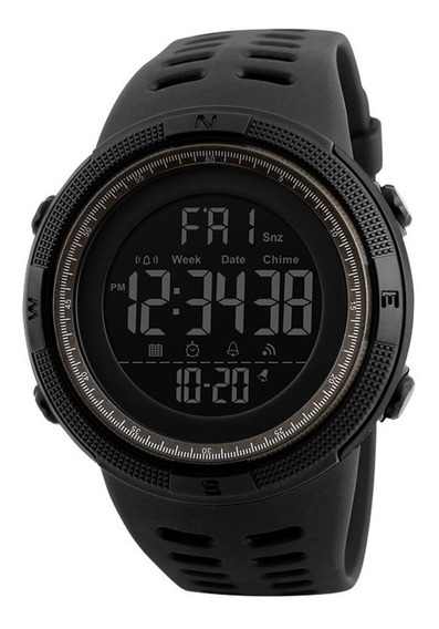 Relógio Inteligente Homens Pedômetro Cronômetro Digital À Pr